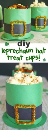 leprechaun hat treat cups!