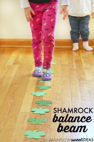 shamrock balance beam