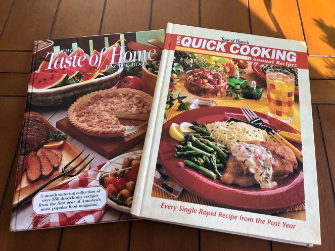 1994 & 1999 cookbooks